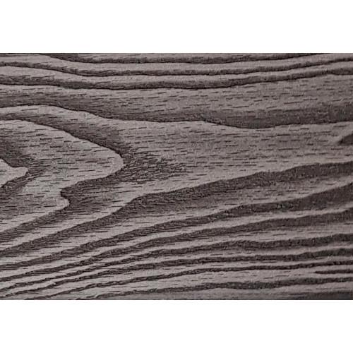 Заборная доска 3D полнотелая Чёрное Дерево