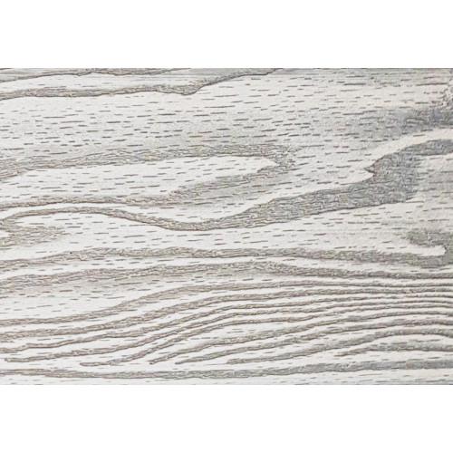 Заборная доска 3D полнотелая Дуб белёный