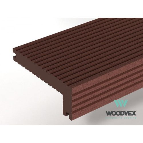 Финишная доска Select 3000х146х22х55 Темно-коричневый