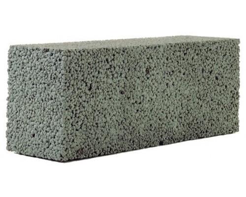 Блоки керамзитобетонные полнотелые