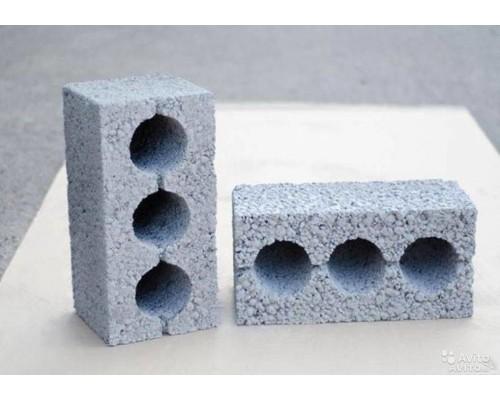Блоки керамзитобетонные 3-х пустотные