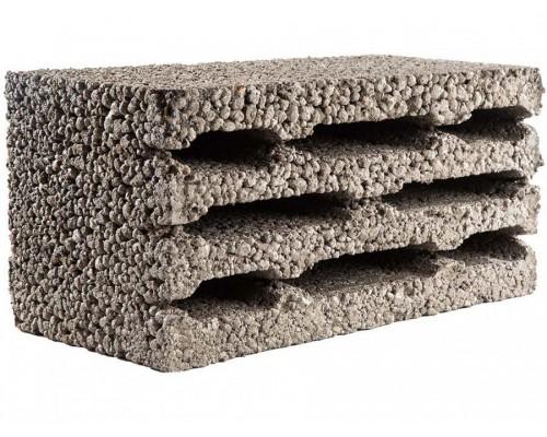 Блоки керамзитобетонные 8-ми пустотные