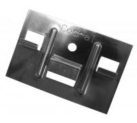 Кляммер с саморезами для доски Кедрал Клик