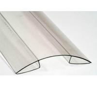 Коньковый профиль 8 мм для поликарбоната