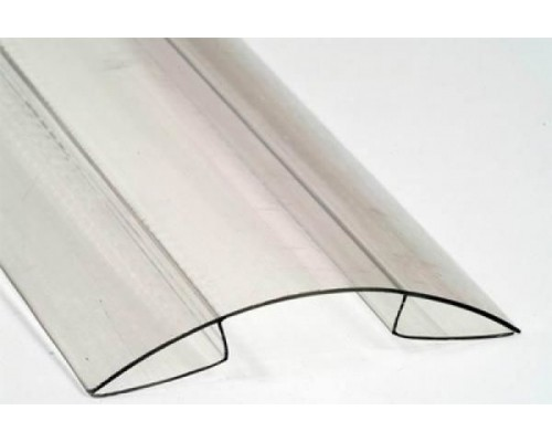 Коньковый профиль 10 мм для поликарбоната