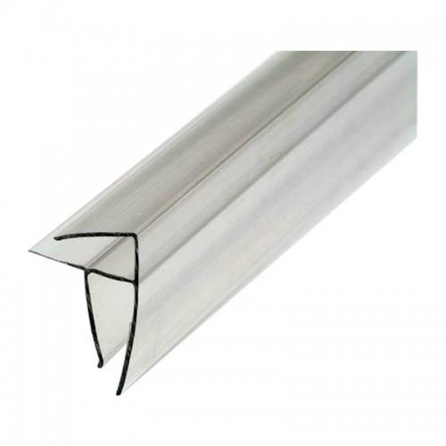 Перпендикулярно-угловой профиль  8 мм для поликарбоната