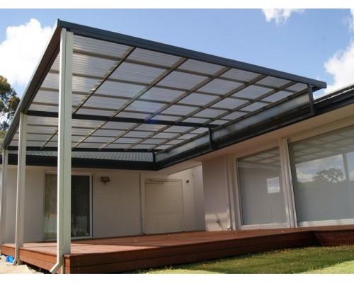 Профилированный поликарбонат Suntuf Greca 76/18 1260х2000 мм цветной