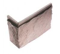 Угол для фасадной плитки Большой сколотый камень