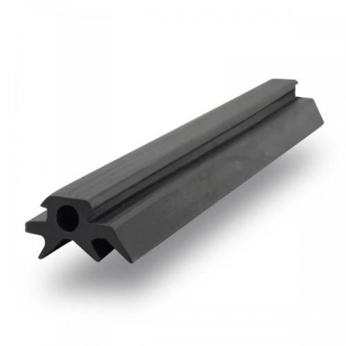 Уплотнитель резиновый узкий для поликарбоната