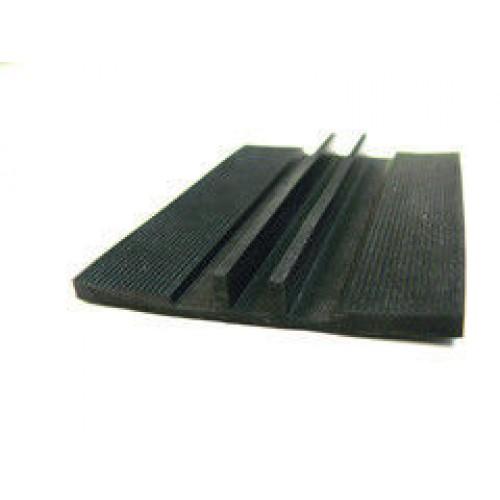 Уплотнитель резиновый широкий для поликарбоната